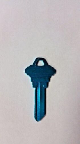 Turquoise Titanium Brand Name Aluminum Very Light Blank House Key SC