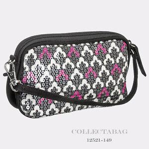 Authentic-Vera-Bradley-Shimmer-Wristlet-Canterberry-Magenta-12521-149