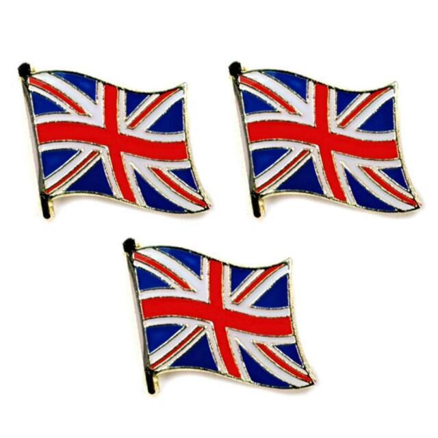 Union Jack flag pin badge V4 United Kingdom lapel badge