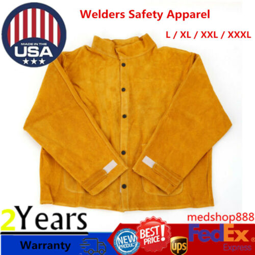 Cutting Welding Safety Apparel Welder Jacket Coat Suit For Welding Woodworking