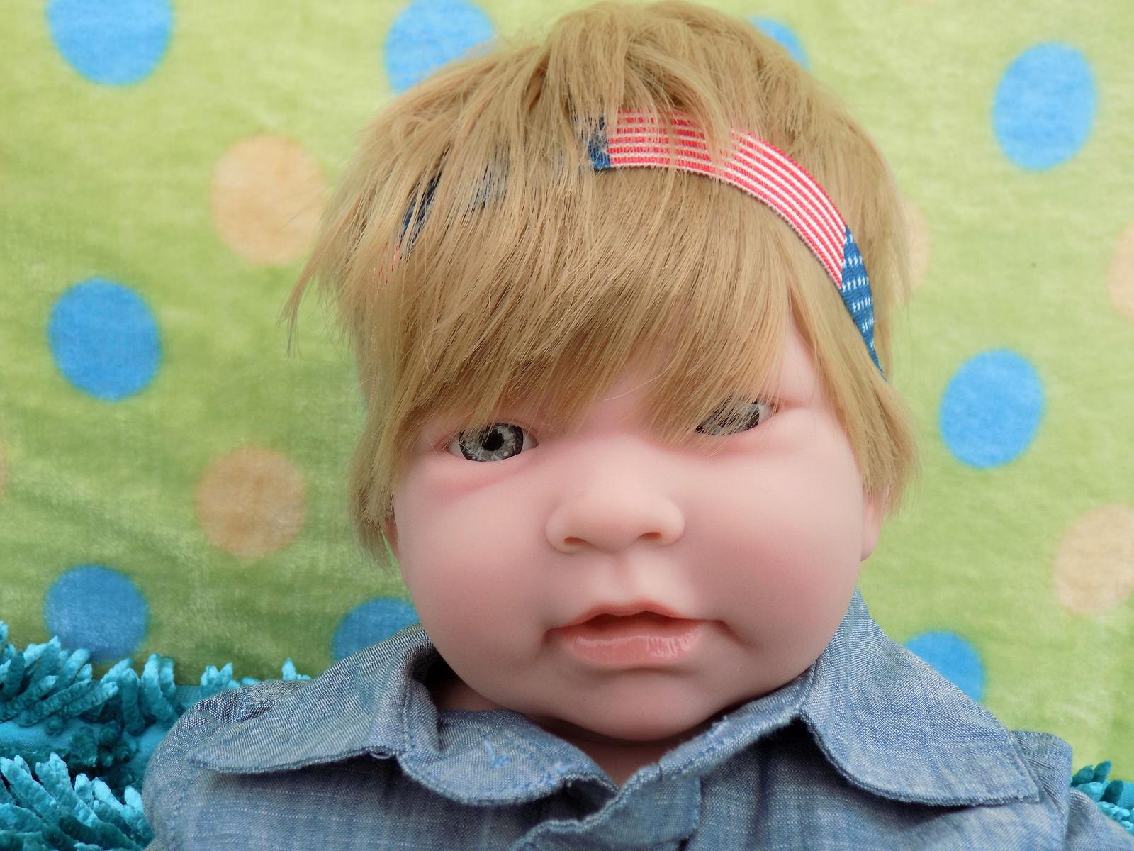 Trato Super Muñeca Bebé Niño Rubio 17  Berenguer Recién nacido Reborn Vinilo Suave Silicona
