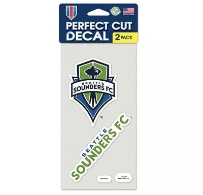 Seattle Sounders FC USA Soccer Football Car Bumper Sticker Decal 4/'/' x 5/'/'