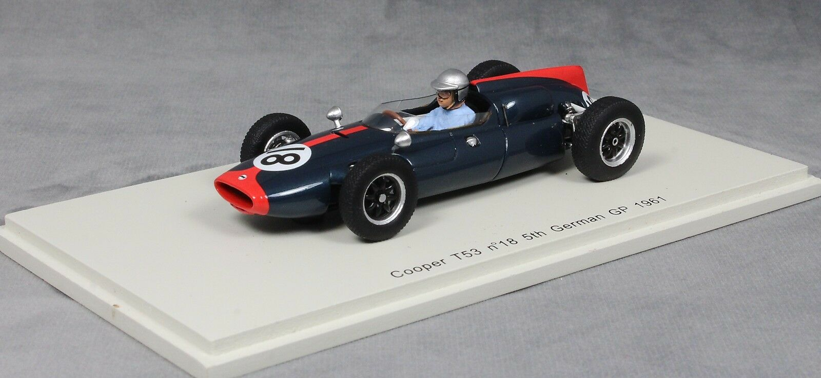 Spark Cooper T53 German Grand Prix 1961 John Surtees S3515 1 43 NEW