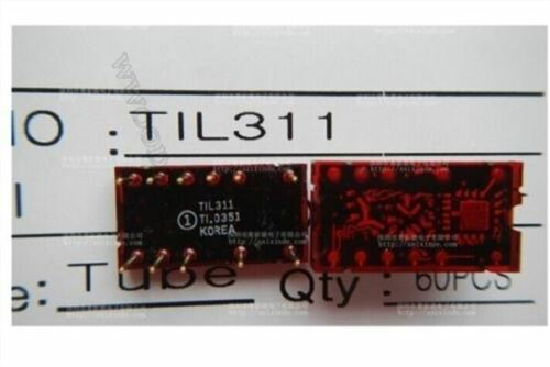 5Pcs TIL311 Ti L311 DIP-11 Hexadecimal Display W//Logic iq