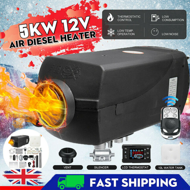 12V 5000W Air Diesel Heater LCD Display PLANAR 2KW-5KW For Car Truck Motorhomes