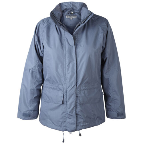 Vermindert Damen Jacke Wasserdicht Atmungsaktiv Regenmäntel Mantel Kapuze 8-18
