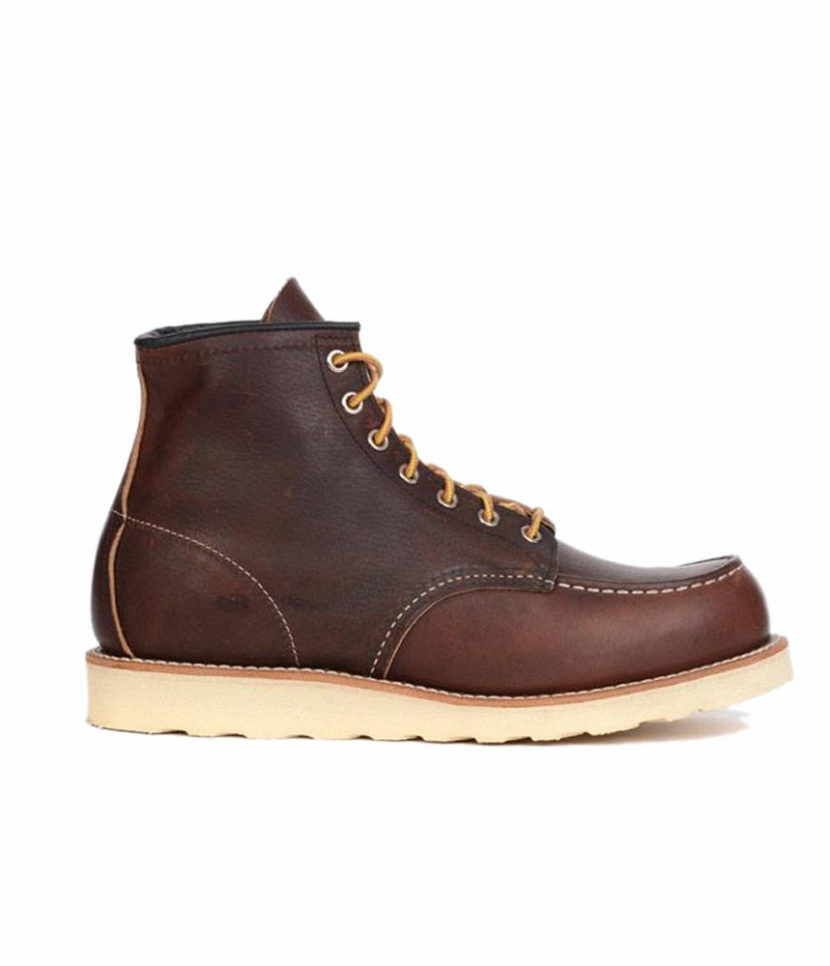Red Wing 8138 Classic Moc 6  Boots -  Size 10 1 2 - Made in USA