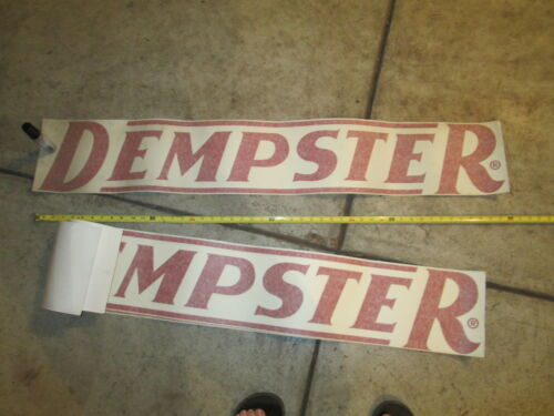 """Dempster Windmill Decal 48/"""" Wide by 8/"""" Tall Large Script"""