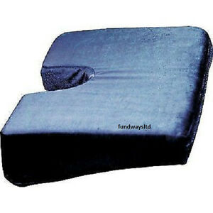 new wagan in9788 ortho wedge auto car seat cushion orthopedic back spine relief ebay. Black Bedroom Furniture Sets. Home Design Ideas