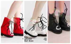 Blythe-Doll-Leather-Shoes-1-6-Dolls-Pullip-BJD-Azone-Jerryberry-Momoko-Dolfie