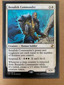 Benalish Commander RARE MTG Time Spiral Remastered TSR Magic The Gathering *NEW*