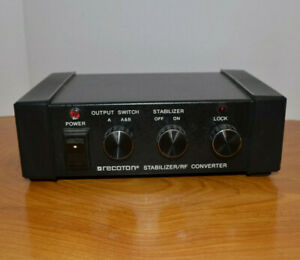 VINTAGE-RECOTON-VIDEO-STABILIZER-RF-CONVERTER-PRODUCER-SERIES-1982-V600A