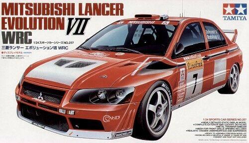 Tamiya 1  24 Mitsubishi Lancer Evolution VII WRC 2002