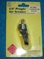 ARISTO-CRAFT LIL' PEOPLE FOR SCENICS #1 - G SCALE SLEEPING MAN  ART60065 NEW