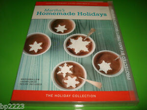 Martha-Stewart-039-s-Homemade-Holidays-Collection-DVD-Recipes-NEW-SEALED-FREE-S-amp-H