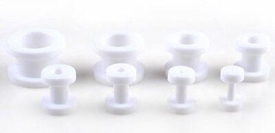 16PCS Wholesale jewelry Lots tunnel Ear Expander Piercing Pierce Free Ship ki*