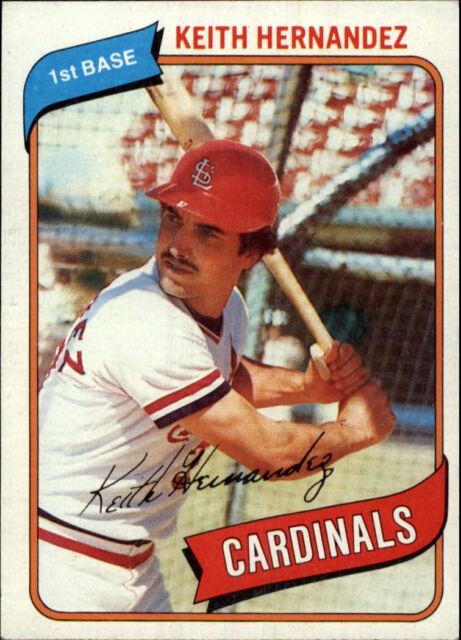1980 Topps Keith Hernandez 321 Baseball Card