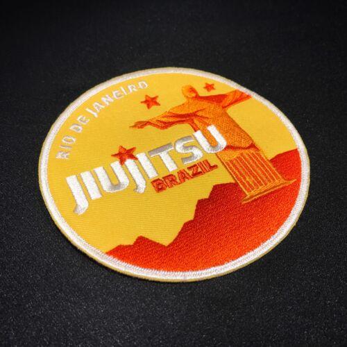 Jiujitsu Brazil Orange /& BJJ Patch 1