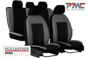 Eco-Leather Tailored Seat Covers 2+1 For NISSAN PRIMASTAR 2001-2014