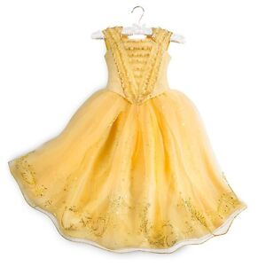 Image is loading NEW-Disney-Store-Beauty-and-Beast-Belle-Limited-  sc 1 st  eBay & NEW Disney Store Beauty and Beast Belle Limited Edition Dress ...