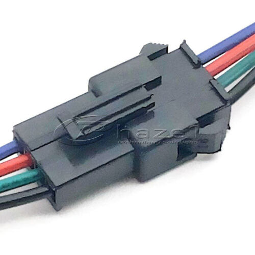 LED Strip connection wires 4 wire plug joiners