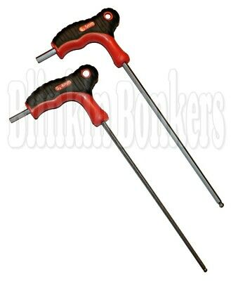 4mm T bar hex Key with Soft Grip Handle