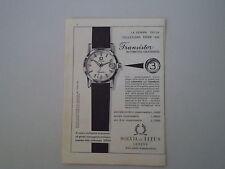 advertising Pubblicità 1959 SOLVIL E TITUS TRANSISTOR