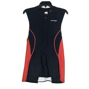 Orca Core Mens Triathlon Singlet Black Tri-Top Cycling Running Swimming Tank Top