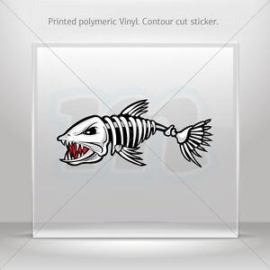 Decals Decal Salmon Fish Atv Bike Garage bike polymeric vinyl st5 XRX22