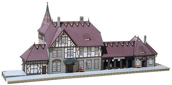 Faller 110116 Stazione Schwarzburg KIT h0  NUOVO