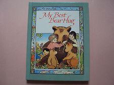 My Best Bear Hug by Donna Alverman (1989, Hardcover)