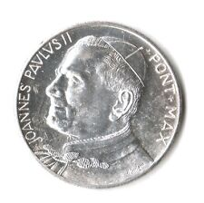 MEDAGLIA JOANNES PAULUS II GIOVANNI PAOLO II - PONT. MAX -STEMMA PAPALE VATICANO