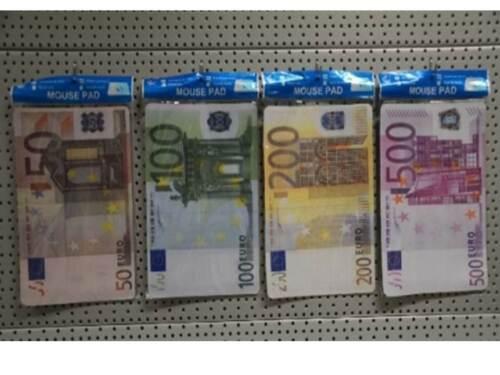Mousepad Geldschein Euroschein Banknote Fasching Ostern Karneval Männer