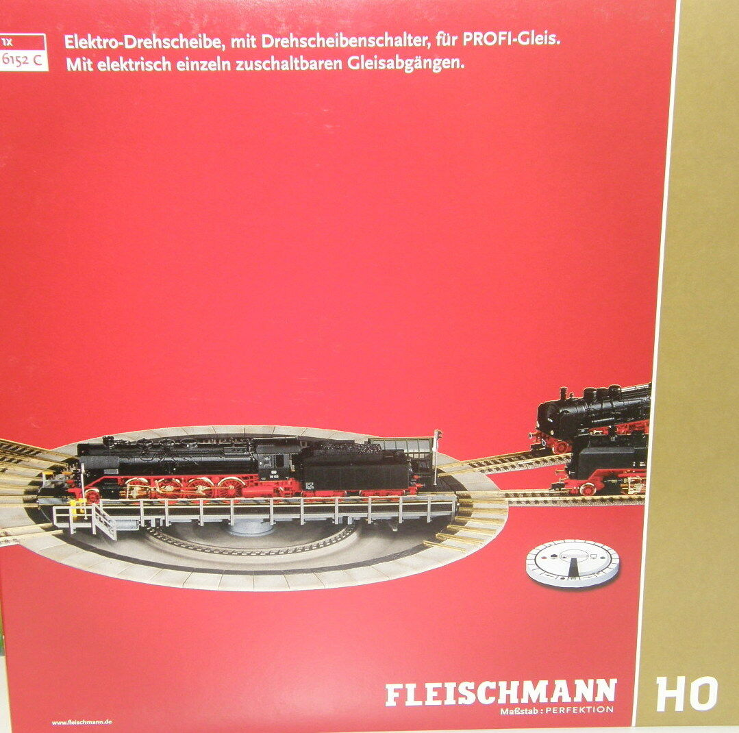 Fleischmann H0 6152 C Platin {65533;gry 6553333; lectrique pour järnväg Professionnel - Neuf