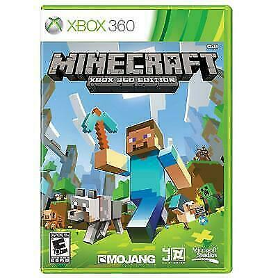 Microsoft Minecraft Xbox 360 Edition GAME DISC CASE MOJANG XBOX LIVE RATED E - $19.90