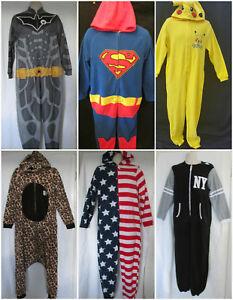 ade4f441c68ee Primark Tout en un Pyjama Hommes Grenouillère Adulte Neuf avec ...