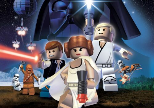 LEGO STAR WARS GAME WALL ART POSTER A1 - A5 SIZES AVAILABLE