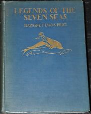 Legends Of The Seven Seas Margaret Evans Price 1929 1st Edition Hardcover Book