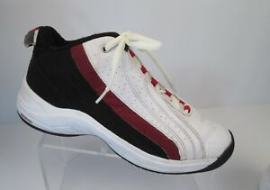 REEBOK DMX Foam Basketball Shoes Mens Size 8.5 Leather Red Black ... 12f191235