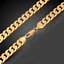 18k-feine-Goldkette-vergoldet-Armkette-extra-dick-Maenner-Armband-Herren-Damen Indexbild 4
