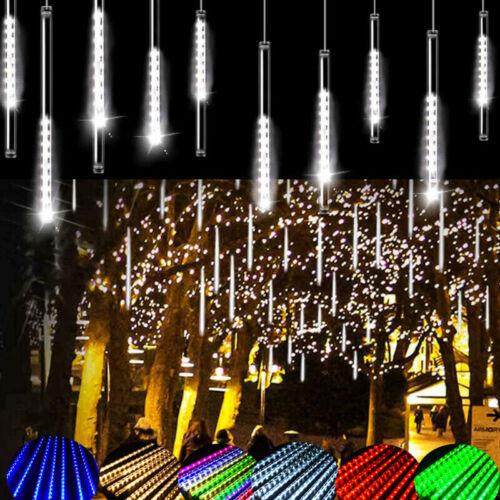 30//50cm 480 LED Solar Lights Meteor Shower Rain Tree String Garden Party Outdoor