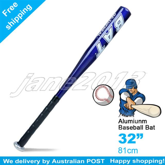 "Blue-Brand New Aluminium Baseball Bat 32"" 81cm SYDNEY STOCK"
