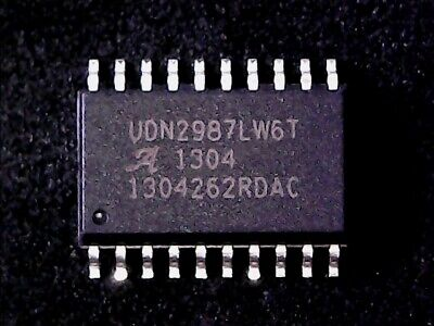 1PCS UDN2987A DIP20 UDN2987 8-CHANNEL SOURCE DRIVER WITH OVER-CURRENT PROTECTION