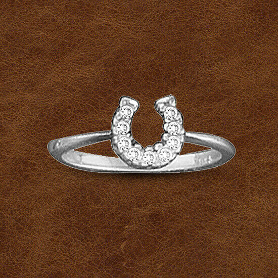 Kelly Herd Baby Horseshoe Ring