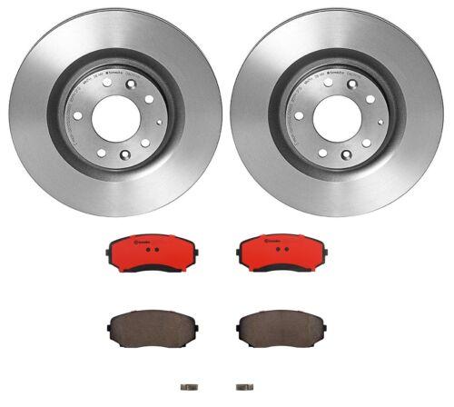 Brembo Front Brake Kit Coated Disc Rotors Ceramic Pads For Mazda CX-9 2007-2015