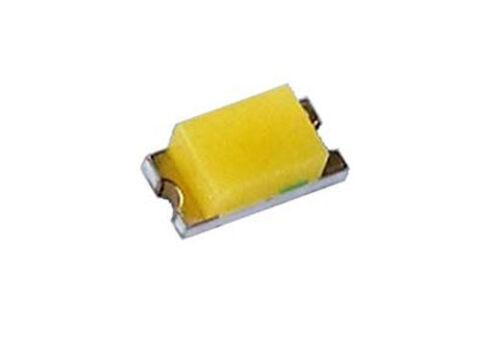 10x Yoldal SMD-LED 0603 golden white UBSM0603WG 2,8V