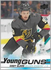 2019-20 Upper Deck Young Guns Cody Glass Rookie # 237 NM/MT RC