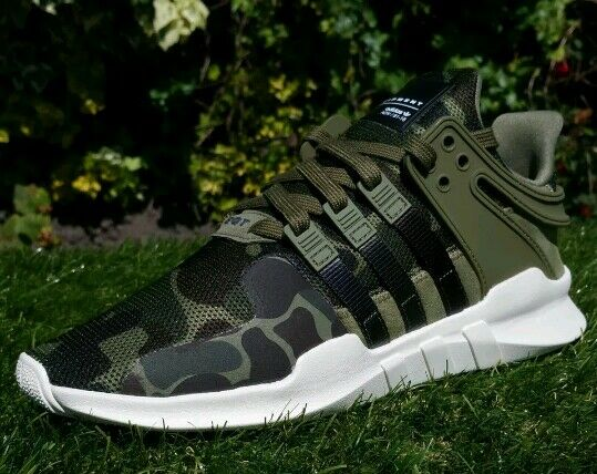 Adidas EQT Support ADV Camouflage surpuissance Bait Deadstock Bib uk9, 5 us10 eu44