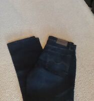 Urban Star Mens Jeans Relaxed Fit Straight Leg Stretch Blue Pants 36 X 30