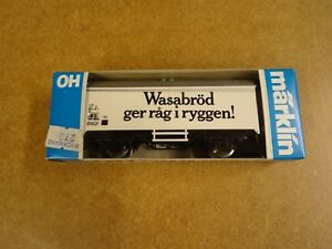 MARKLIN-MARKLIN-HO-4566-BOXED-WAGON-WASABROD